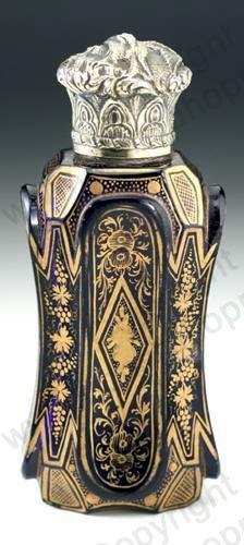 Antique Sampson Mordan scent perfume bottle. ♡°http://www.richardhoppe.co.uk or for help or information email us here: info@richardhoppe.co.uk