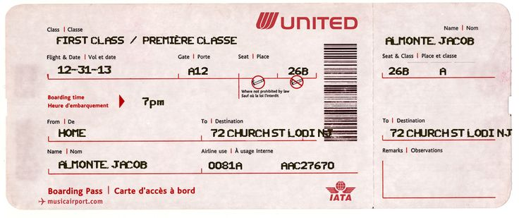 Airline Ticket Template Word Entrancing 8 Best Invites Images On Pinterest  Viajes Air Flight Tickets And .