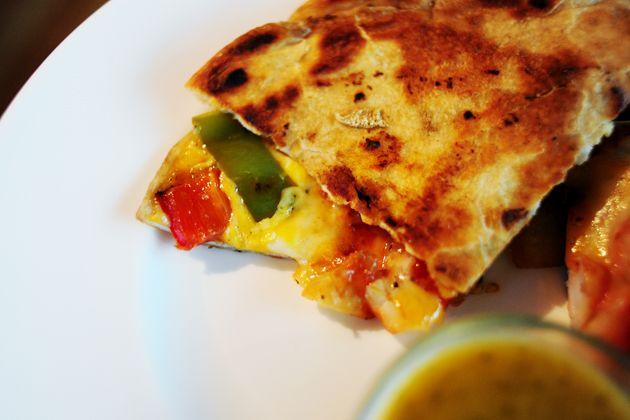 Quesadillas de Camarones, WOW! Shrimp goes Mexican, again, WOW.