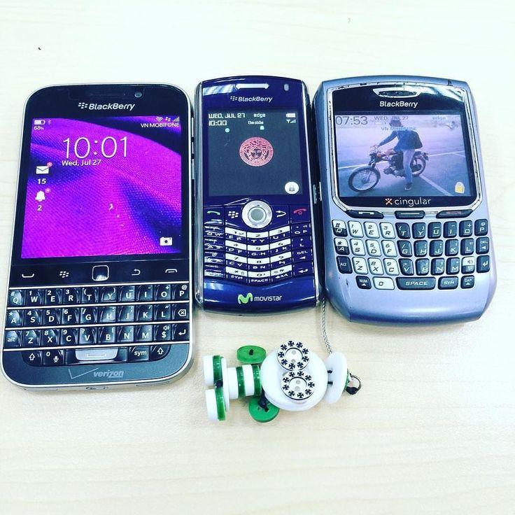 BlackBerry Classic BlackBerry Pearl y BlackBerry 8700 #TeamBlackBerry #PoweredByBlackBerry #Amazing #Luxury #XtremeBBerry #BBEliteWin #LifeStyle #LoveBlackBerry #IChooseBlackBerry #BlackBerryForLife #Nice #LuxuryBlackBerry #BB10 #BBOS  ___________________________________  #ReGram @vitinhthaian: My daily buddies! Another buddy absent today Bold9900 :) Love them all! #blackberry #classic #bb8820 #bb8700
