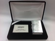 Zippo Canada Limited Edition Final Production Silver Plate+