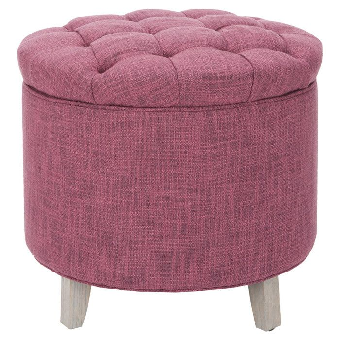 vanity chair with storage. Scarlett Storage Ottoman in Rose 76 best Ottomans images on Pinterest  Dorm room and