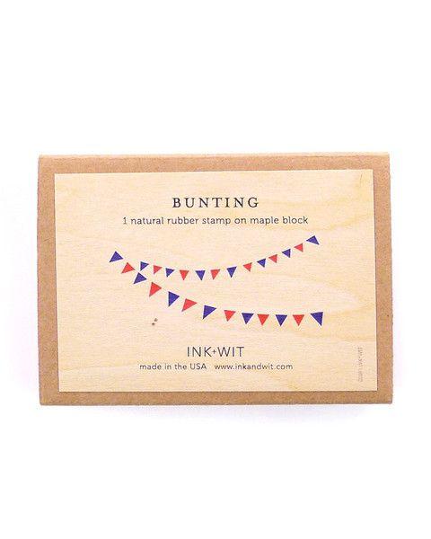 Bunting Stamp