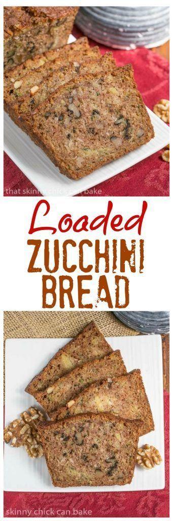 Pineapple Coconut Zucchini Bread | #zucchinibread The ultimate summer quick bread with walnuts, pineapple and coconut!  | Dessert Recipe