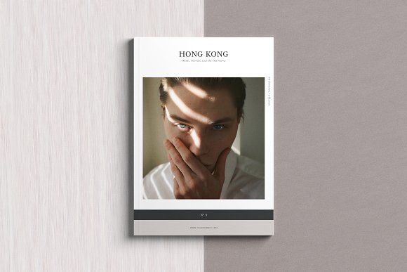 Hong Kong Magazine (100+ Pages) by Ruben Stom on @creativemarket