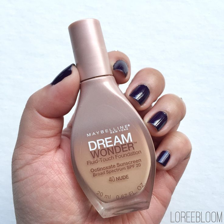 Maybelline Dream Wonder Fluid Touch Foundation Review
