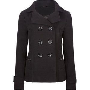 this is a adorable Peacoat that i would love as a gift or would love to give to a friend. i like it because is stylish yet a warm coat for winter and looks well made.