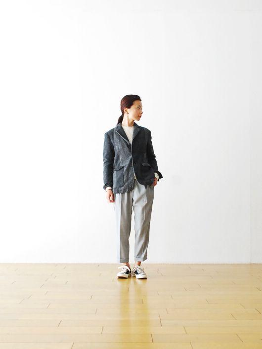 "[ladie's]FWK by Engineered Garments(エフダブリューケイ バイ エンジニアードガーメンツ)  ""Baker Jacket - 2 Tone Wool HB"""