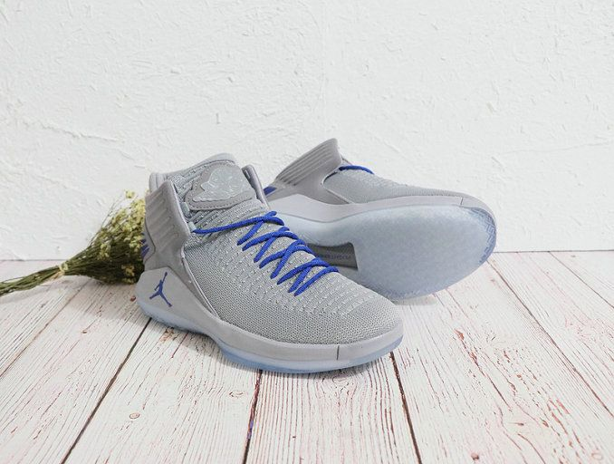 Air Jordan 32 Wolf Grey Blue