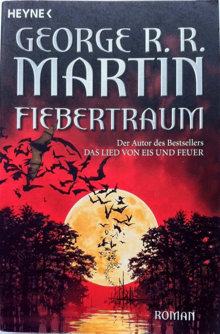 George R R Martin  Fevre Dream  German Cover  #book #cover #vampire