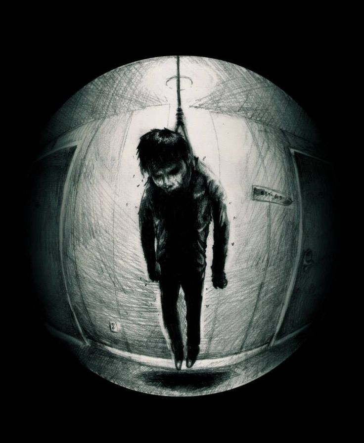 A Knock At The Door   Art, Dark art, Scary images