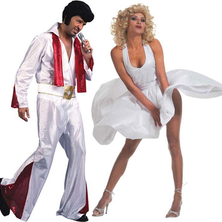 Pareja disfraces de elvis marilyn parejas disfraces - Difraces para carnaval ...