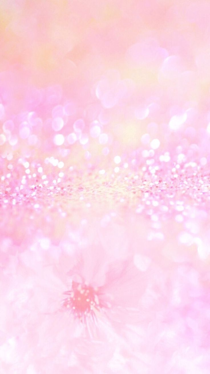 Pastel Pink Glitter Iphone Wallpaper With Images