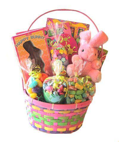 76 best easter baskets cadeaux pques images on pinterest net easter bunny basket negle Images