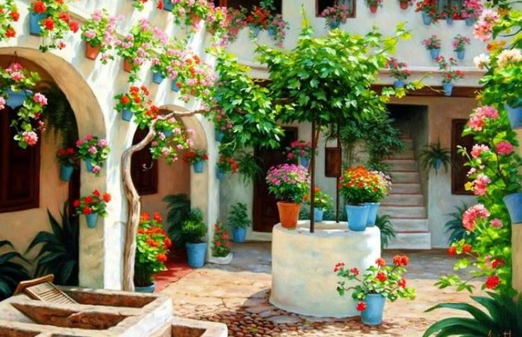 Cortile andaluso