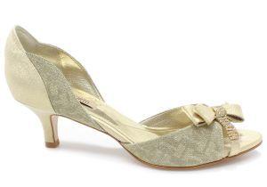Sapato Laura Porto Peep Toe MR 1131 (Noiva Colorido)