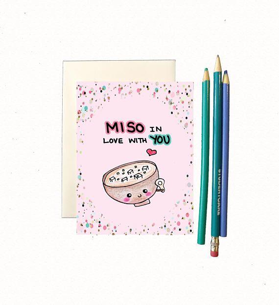 Funny valentine card boyfriend, funny valentines card husband, valentine's day card girlfriend, cute valentine card wife, foodie pun card