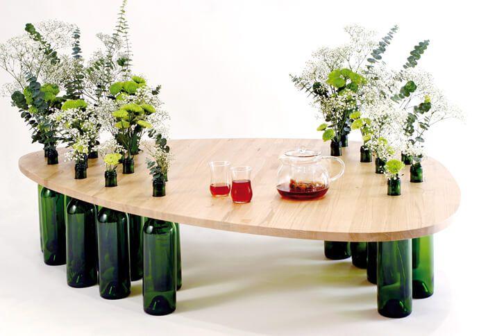 Réutiliser et recycler les bouteilles en verre utilement