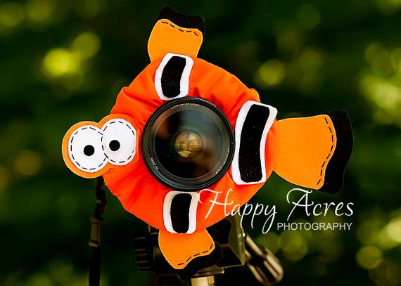 Lens Bling Clown Fish Ready to Ship by HappyAcresFarm on Etsy, $20.00
