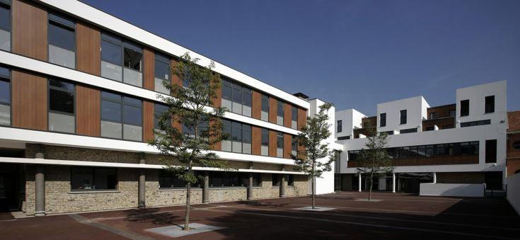 Collège Jean Mermoz à Bois-Colombes, par BAILLON-HENRION ARCHITECTES