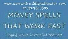 #moneyspells #moneyspellsluck #spells #spellsthatwork #traditionalhealer  www.womantraditionalhealer.com  +27829607305
