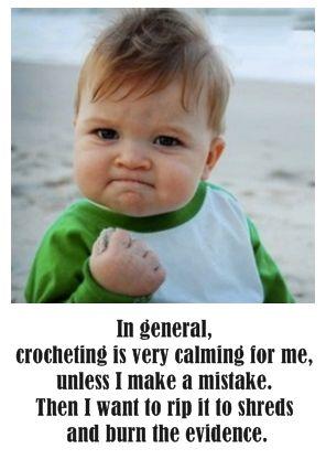 Crochet, Knitting and Fiber Humor