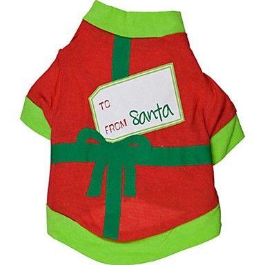 Gatti Cani T-shirt Abbigliamento per cani Estate Monocolore Vacanze Natale Nero Verde del 5335094 2017 a €6.99