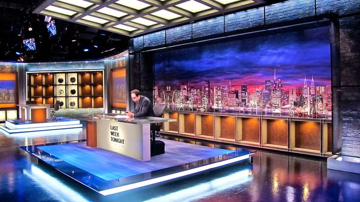We had the awesome opportunity to design and build the set for HBO's new series, Last Week Tonight with John Oliver.