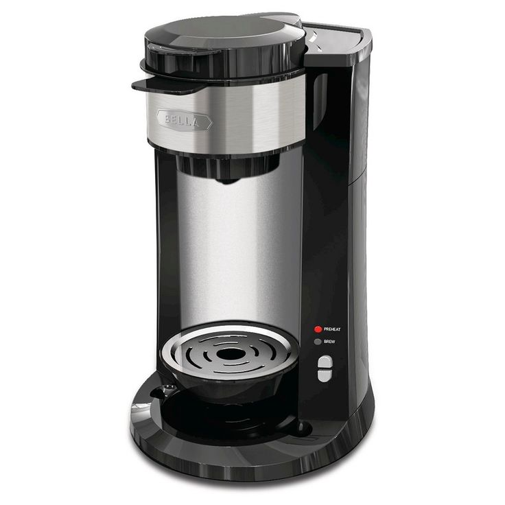 Bella Single Serve Dual Brew Coffee Maker, Black
