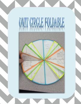 21 best the unit circle images on pinterest precalculus unit circle foldable pronofoot35fo Images