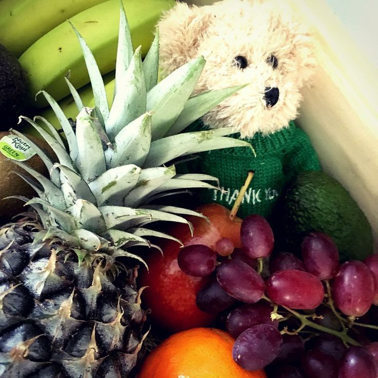 Thank you gifts - say that special thank you with a fruit box & thank you message bear 😍 #thankyou #thankyougift #thankyougifts #thankyouhampers  #baby #thankyougift #thankyougifts #thankyouhampers #thankyoubaskets #messagebear