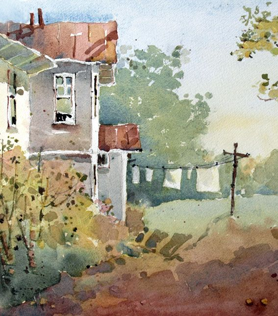 Watercolor study by Joyce Hicks