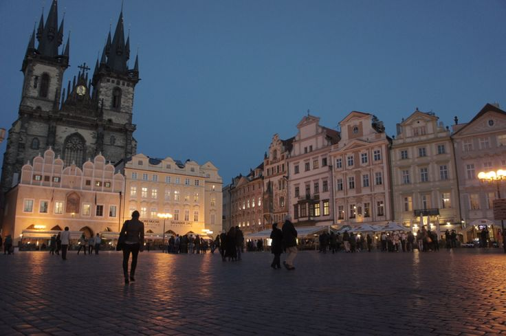 old town square^prague^october 2012