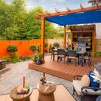 Kelsey Property - Transitional - Deck - portland - by Paradise Restored Landscaping & Exterior Design