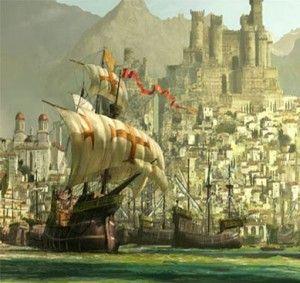 Knights Templar:  #Knights #Templar ship.