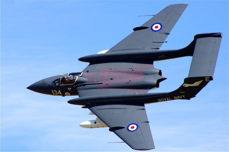 De Havilland Sea Vixen.. one of the very earliest jet fighters, but still very attractive...