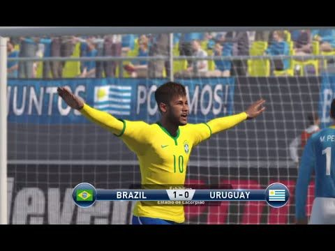 ##PS4share #2015 #brazil #evolution #FederationInternationaleDeFootballAssociation(FootballOrganiza... #gameplay #Neymar #Neymar(FootballPlayer) #pes #pes2015 #pro #ProEvolutionSoccer(VideoGameSeries) #PS4 #soccer #suarez #Uruguay #vs PES 2015 GamePlay PS4 Brazil VS Uruguay Neymar Suarez Pro Evolution Soccer
