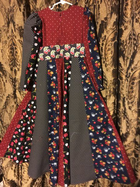 EID girls darker floral maxi dress  | EID modern islamic dresses for girls