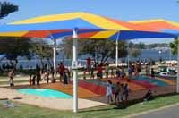 Broadwater parklands and Rockpool water play area