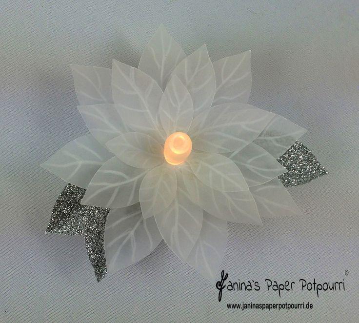 jpp - Weihnachtsstern Teelicht 7