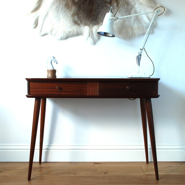 Perfect Vintage Furniture   1950u0027s Console Table SOLD | Vintage Furniture, Console  Tables And Consoles