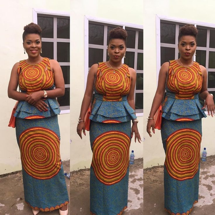 Great and quality Trendy Ankara look-book pretty styles 2017 you just have to see this beautiful year of fashion...This are combination of Anka