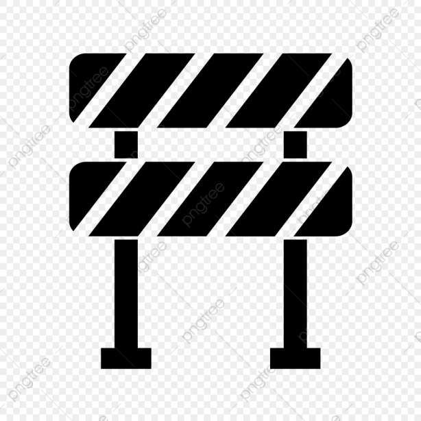 10 Barrier Icon White Png Icon Png Barrier