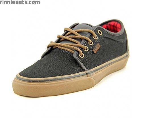 Vans Chukka Low Mens Skateboarding Shoes Black/ Gum/ Flannel Black/ Gum/ Flannel