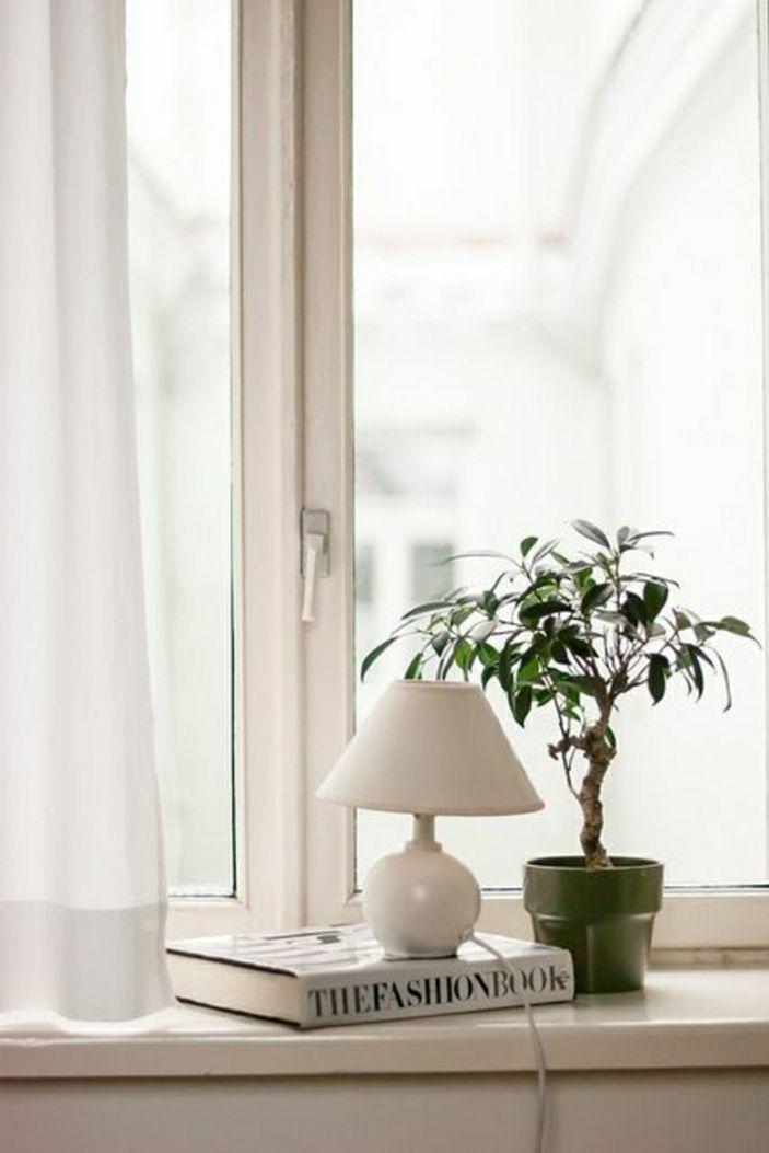 19 besten einmalige fensterdeko zum erstaunen bilder auf pinterest dekoration wirken und - Fensterbank lampe ...