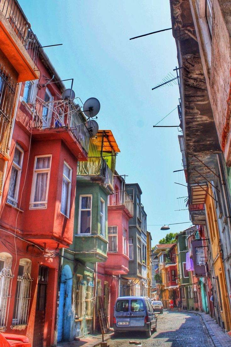 Balat, Istanbul, Turkey ... I have ALWAYS longed to visit this beautiful country