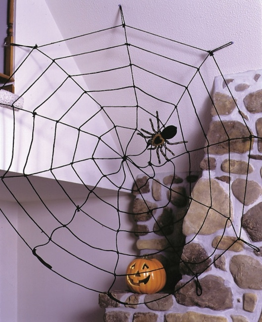 17 best images about holiday decorations with rope on pinterest giant spider spider webs and. Black Bedroom Furniture Sets. Home Design Ideas