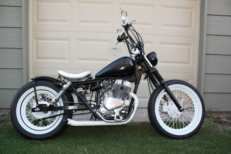 CMX250C with white walls and apes, sick