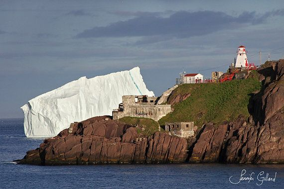 Iceberg art Fort Amherst Nature Photography by DreamsandNotions