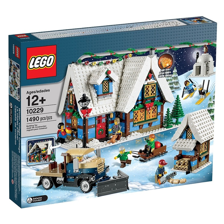 Toys R Us Legos For Girls : Lego creator winter village cottage